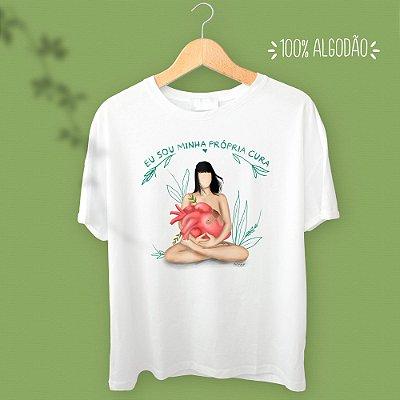 Camiseta - Eu sou minha própria cura