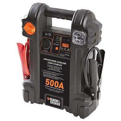 Auxiliar De Partida Maleta 12v Bivolt Black & Decker 500amp JS500