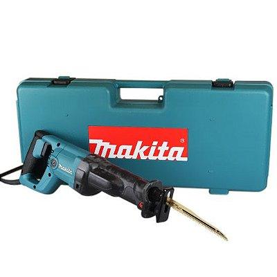 Serra Sabre 1010w Makita 3050t Com 3 Lâminas - 110v e 220v + Alicate e Oculos