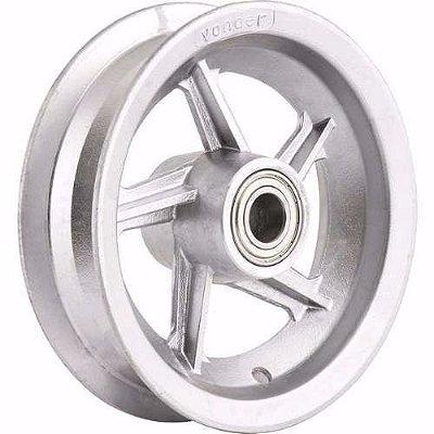 Roda Aro Aluminio 8 X 3,5 Com Rolamento