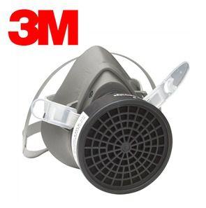 Respirador 3m Série 3000 1/4 Facial 3200 Original