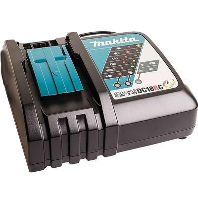 Carregador De Bateria 18v Makita Dc18rc Bivolt Original
