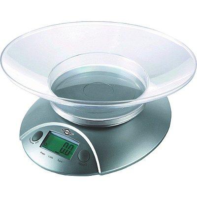 Balança de Cozinha Eletrônica Digital 5 KG 7550 - BRASFORT