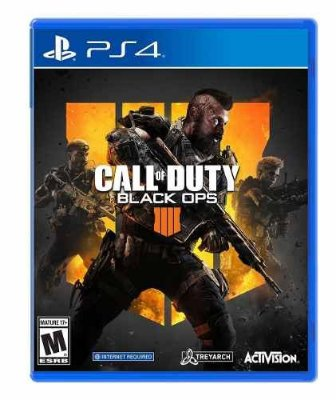 Jogo Call Of Duty Black Ops 4 - Playstation Ps4 Mídia Física