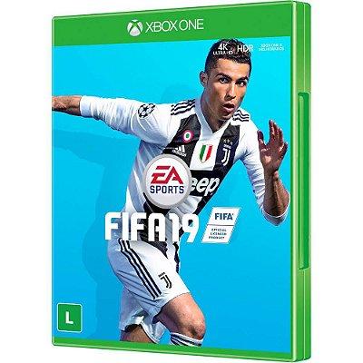 Jogo Fifa 2019   Xbox one  Mídia Física