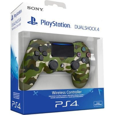 Controle para  Video Game PS4 Playstation 4 - Camuflado - Dual Shok 4 - Original Sony