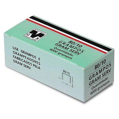 Grampo Para Grampeador 80/10mm Pneumatico Rocama 1 caixa