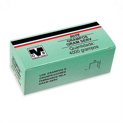 Grampo Para Grampeador 80/06mm Pneumatico Rocama 1cx