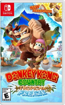 Jogo Donkey Kong Country Tropical Freeze - Switch Mídia Física