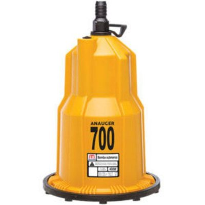Bomba Submersa 450 Watts Para Água Limpa - 700 5g 127v ou 220v