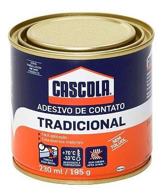 Cola Contato Cascola 195g Sapateiro Artesanato Lata Pequeno