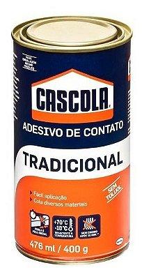 Cola Contato Cascola 400g Sapateiro Artesanato Marceneiro