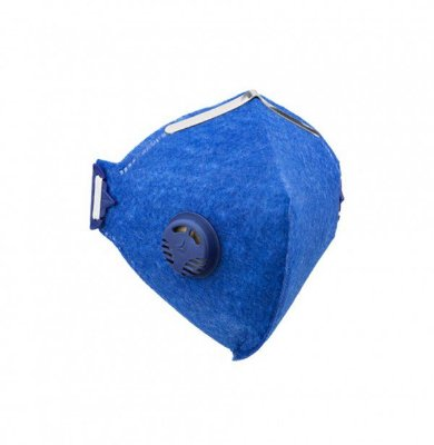 1 Mascaras Respiradora Pff2 Valvulada Proteção Filtro - Selo Do inmetro