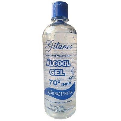 Álcool Gel 70% Uso Geral 500ml - 1153 - GITANES