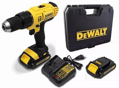 Furadeira Parafusadeira Imp 20v Bateria Biv Dewalt Dcd776