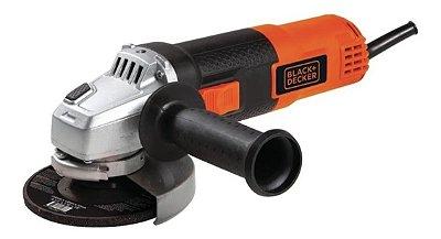 Esmerilhadeira angular Black+Decker G720 de 60Hz laranja