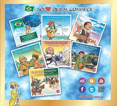 Coleção Brasil: só ama quem conhece (7 livros)