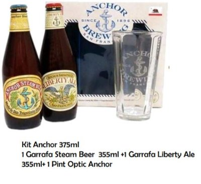 Kit Cerveja Anchor from San Francisco
