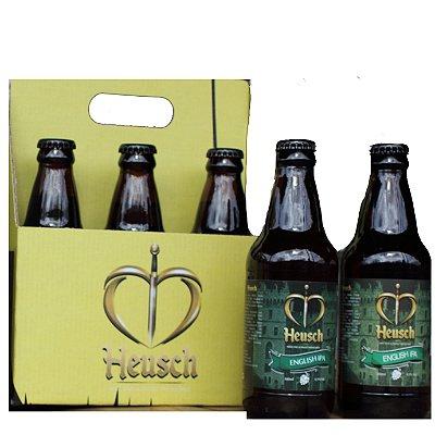 Pack Cerveja Heusch 6 unidades English IPA