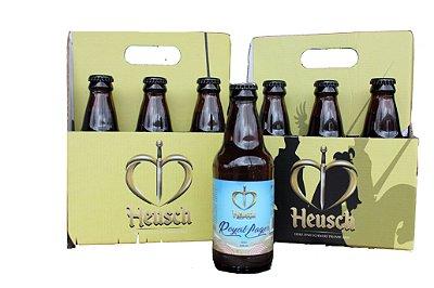 Pack Cerveja Heusch 6 unidades Royal Lager