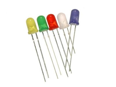 Led Difuso 5mm (Diversas Cores)
