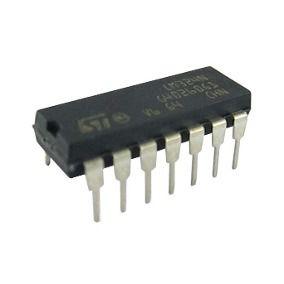 LM324 - CI Amplificador Operacional Quadra