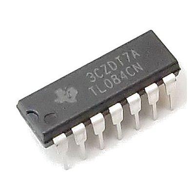 TL084 - CI Amplificador Operacional Quadra