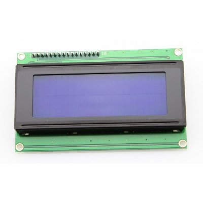 Display LCD 20×4 com I2C Backlight Azul