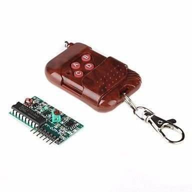 Kit Controle Remoto + Receptor RF 433Mhz