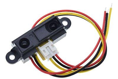 Sensor Infravermelho GP2Y0A21YK0F 10-80cm