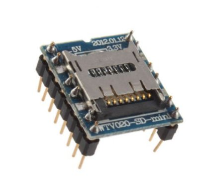 Módulo MP3 WTV020-SD para Arduino