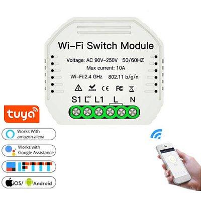 Interruptor Inteligente (Módulo Relé Wifi) - Tuya