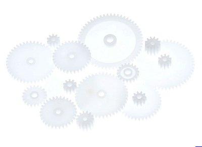 Kit de Engrenagens para Robótica 46 Peças