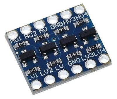 Módulo Conversor de Nível Lógico 3,3-5V Bidirecional
