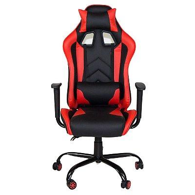 Cadeira Gamer Giratória Reclinável com Regulagem de Altura