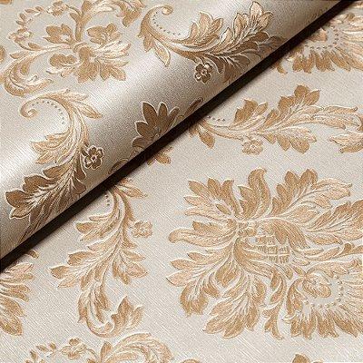 Papel De Parede Importado Vinílico Lavável Textura Em Relevo 5585