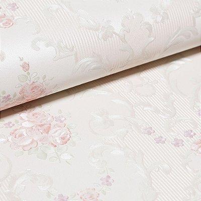 Papel De Parede Importado Vinílico Lavável Textura Em Relevo 5502