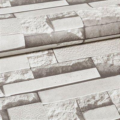 Papel De Parede Importado Vinílico Lavável Textura Em Relevo 2252