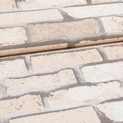 Papel De Parede Importado Vinílico Lavável Textura Em Relevo 22122