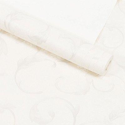 Papel de Parede Importado Vinílico Lavável Textura em Relevo Floral 8164