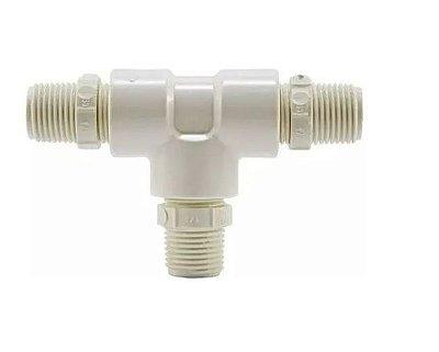 Adaptador T para Torneira Conexão Água Fria