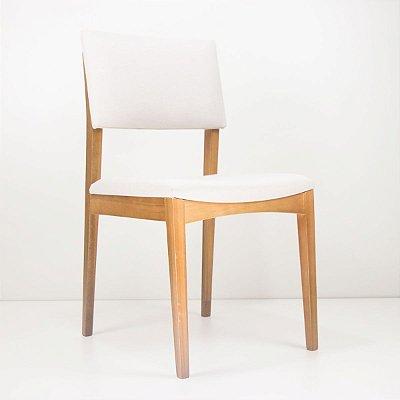 Cadeira Madeira Tapui Estofada para Mesa de Jantar
