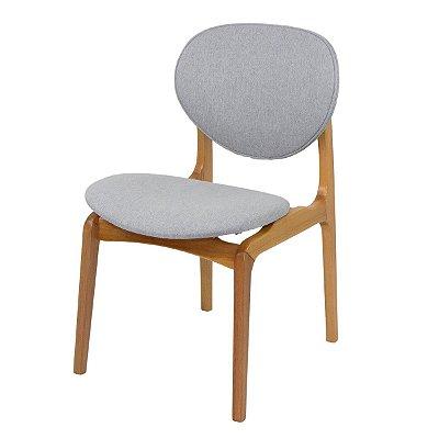 Cadeira Para Mesa de Jantar Atenas Amendôa Linho