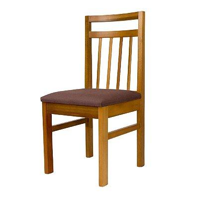 Cadeira para Mesa de Jantar Paris Madeira Maciça Cor Avelã