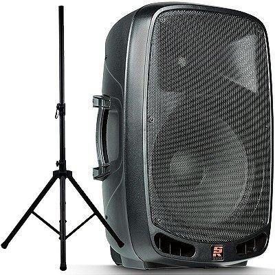 Caixa Ativa Staner Ps1501 200w Rms Bluetooth Usb Com Tripé!!