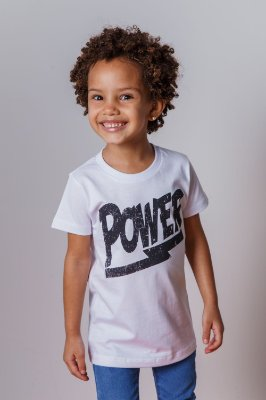 Camiseta Infantil Power
