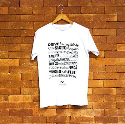 Camiseta Palavras (Branca)