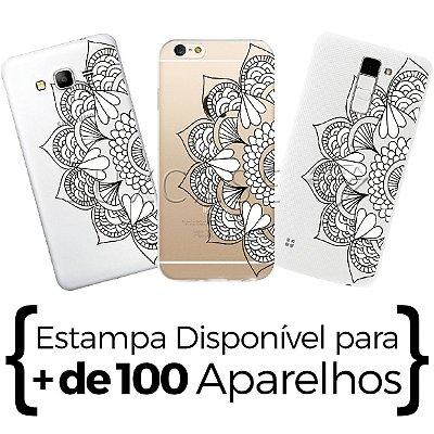 Capinha - Mandala Flores