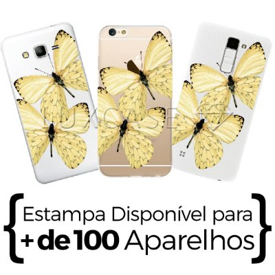 Capinha - Borboletas Amarelas