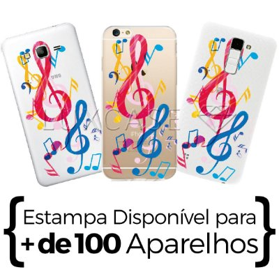 Capinha - Notas Musicais